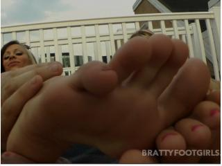 Bratty Foot Girls